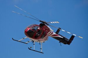 Hughes/MD Helicopters MD 500 Series on display at the Vertical Challenge 2010, June 19, 2010, , at the Hiller Aviation Museum in San Carlos CA.