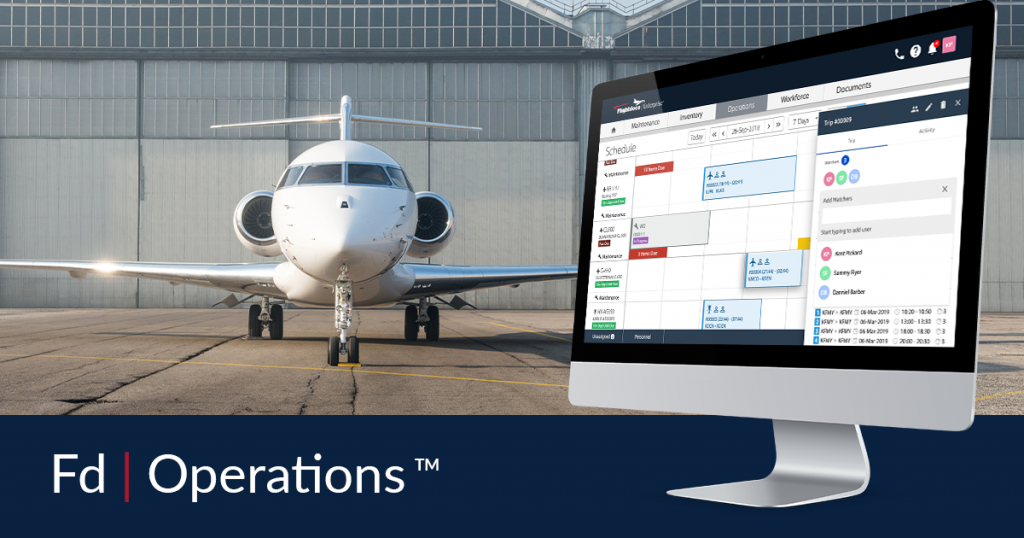Fully Integrated Flight Department Management System